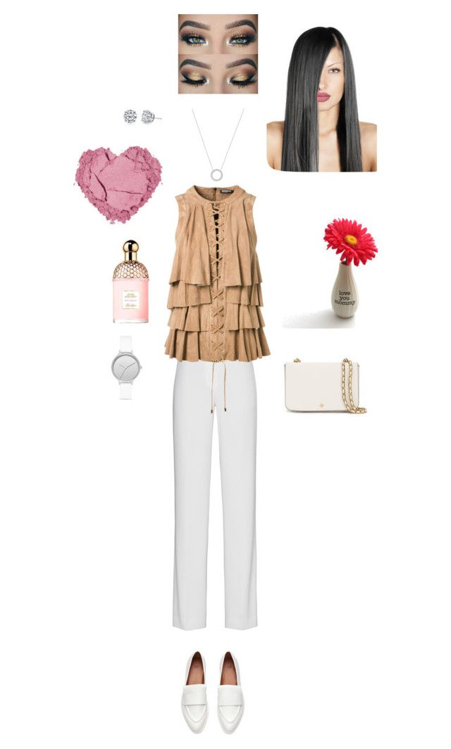 Happy Mother's Day! by naznazguven on Polyvore featuring moda, Balmain, DKNY, Tory Burch, Michael Kors, Skagen, Harry Kotlar and Guerlain