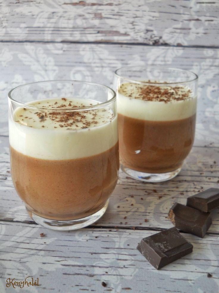 csokis panna cotta
