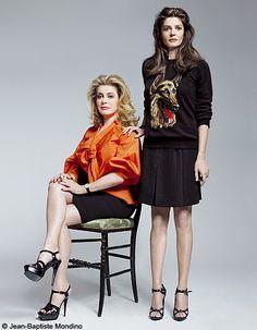 Chiara Mastroianni et Catherine Deneuve: l'humour fou