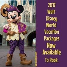 2017 Walt Disney World Vacation Packages are now Available to Book