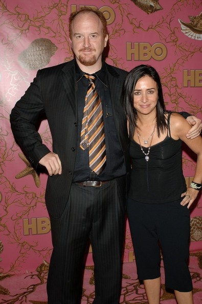 Pamela Adlon and Louis C.k. Photo - HBO Post Emmy Party - Arrivals