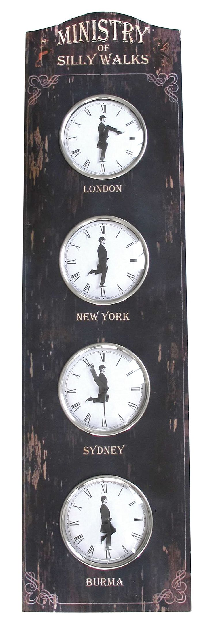 25 unique world clock ideas on pinterest world clock time ministry of silly walks world clock by dolltv monty python amipublicfo Gallery