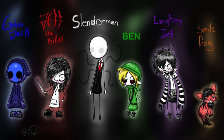 jeff the killer meet smile dog picture