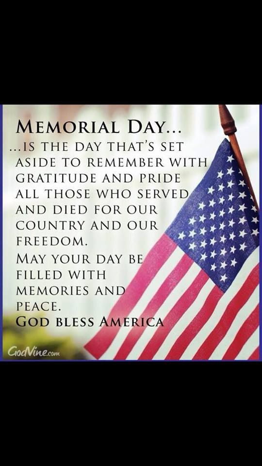 memorial day of usa