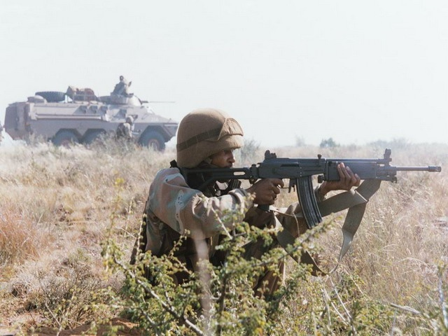 South African soldier