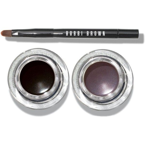 Bobbi Brown Cat Eye Gel Liner & Brush Set ($33) ❤ liked on Polyvore featuring beauty products, makeup, eye makeup, eyeliner, gel eye liner, gel eye-liner, bobbi brown cosmetics, set of brushes and gel eyeliner
