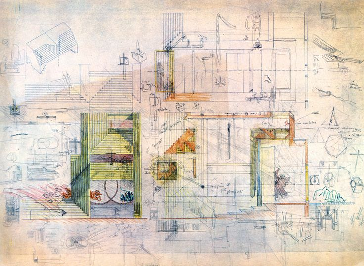 carlo scarpa drawing | Tumblr
