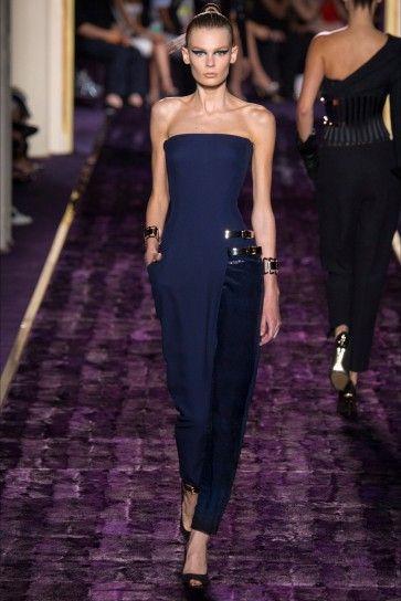 Jumpsuit blu Atelier Versace