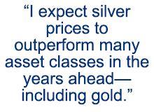 silver price prediction