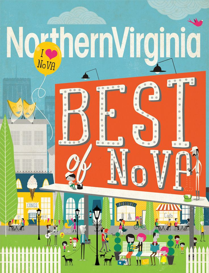 Northern Virginia magazine....great source for things to do in NOVA