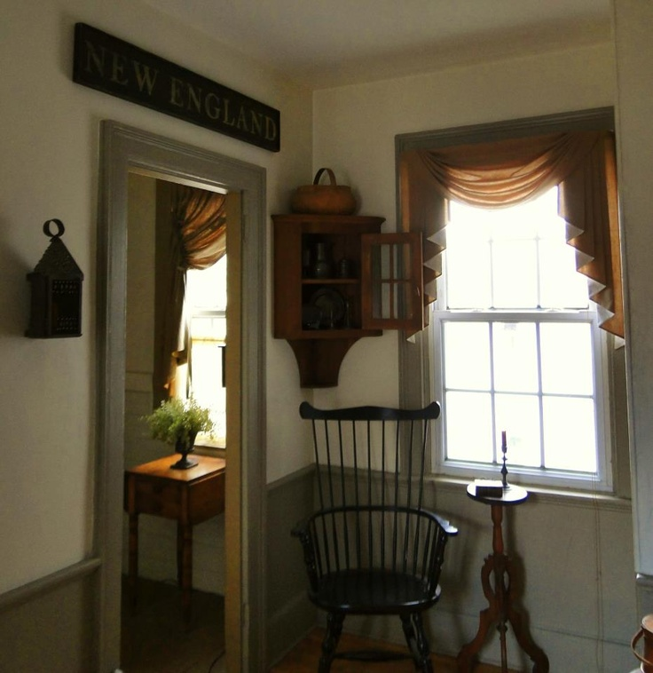 770 best images about primitive colonial rooms on for Colonial window designs