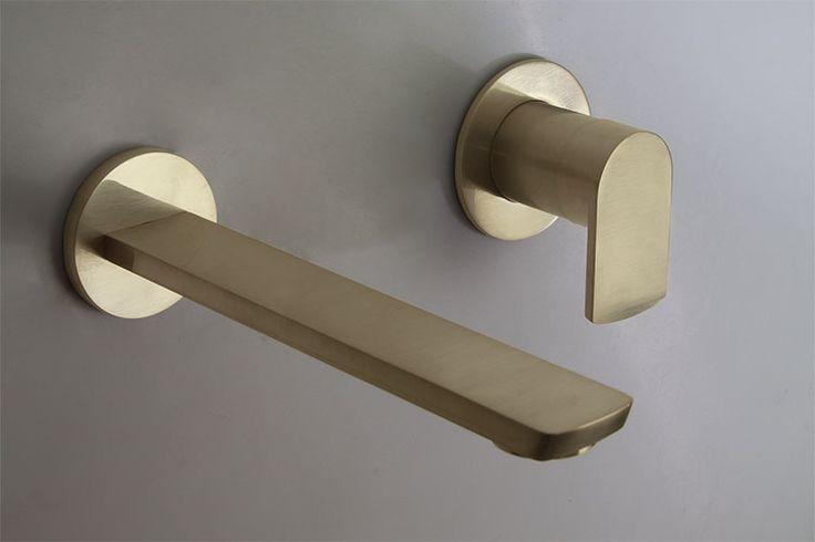 Wall Mounted Brass Basin Tap | Mode Brass Bathroom Taps