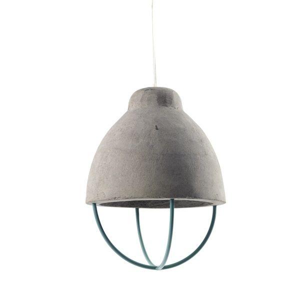 Afbeelding bij Serax Feeling Beton Hanglamp Ø 18 cm - Groen