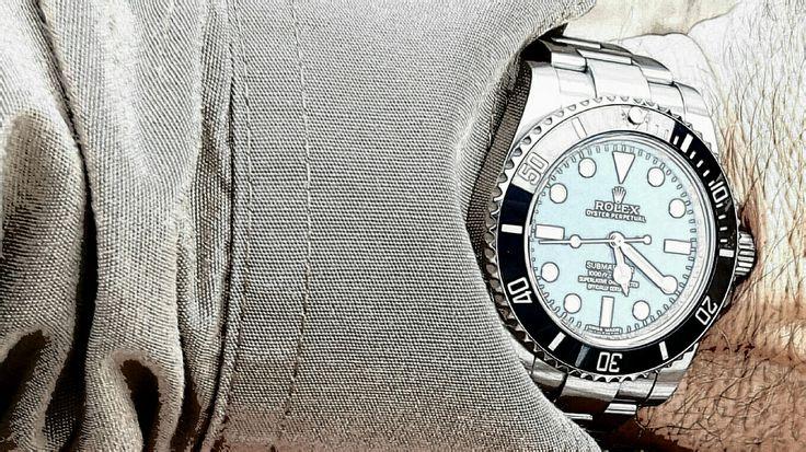 Rolex No Date Submariner.