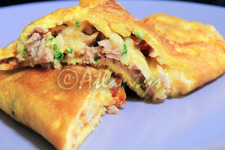 Terapia do Tacho: Omelete de atum com parmesão (Tuna omelet with parmesan)