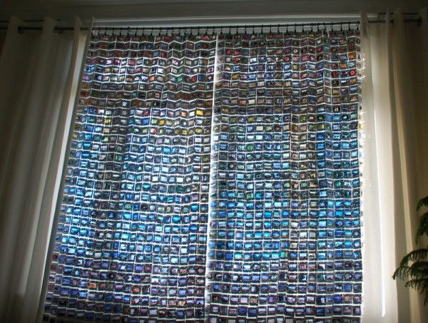 35mm Film Slide Curtains - Recyclart