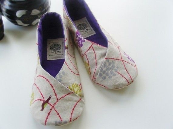 Kimono shoe sewing pattern