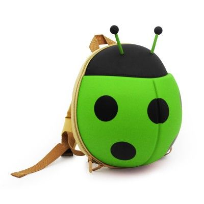 Backpack Ladybug- Green