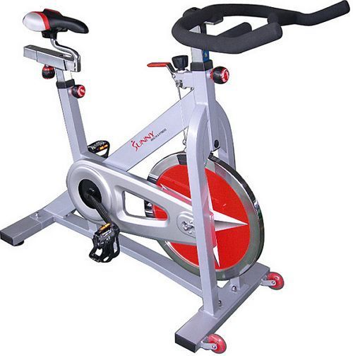 Exercise Bike Stationary Upright Fitness Workout Cycling Indoor Gym Equipment #Sunny