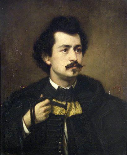 Madarász Viktor Önarckép 1863