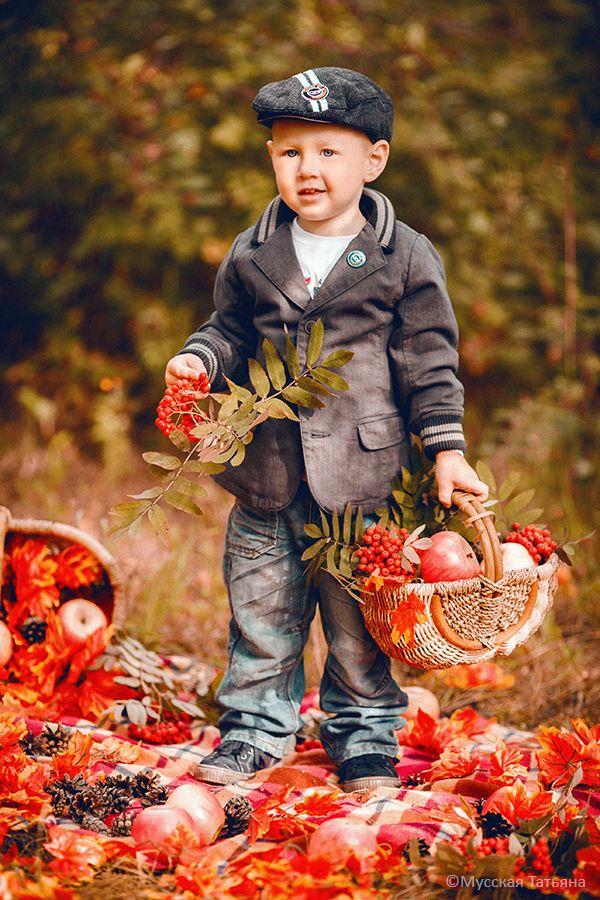 Осенняя прогулочная фотосессия