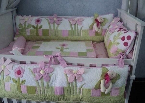 Бортик для детской кроватки (Шитье и крой)   Журнал Вдохновение Рукодельницы