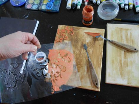 Petroschi Bianca - Pictura si deco aplicatii pe panza (9)