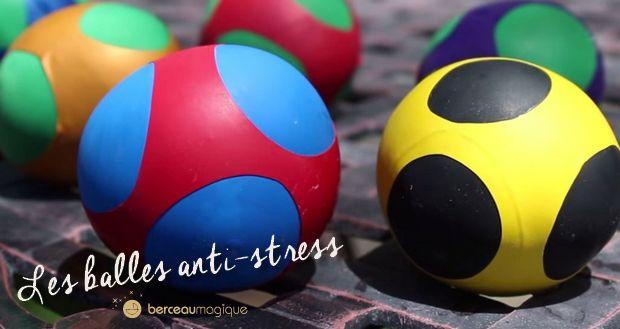 Fabriquer avec eux des balles anti-stress afin d'accompagner les enfants anxieux dans leur quotidien afin qu'ils surmontent leur stress.