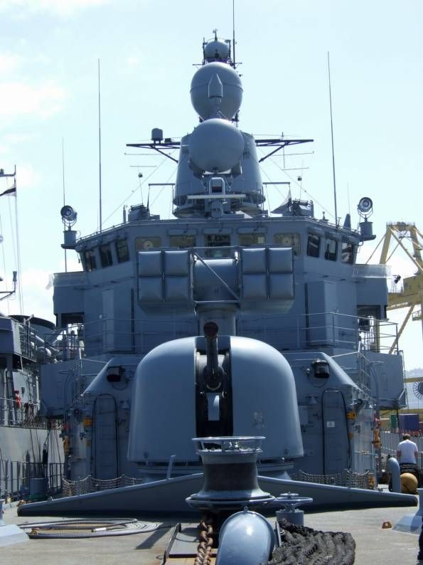 f 208 fgs niedersachsen type 122 bremen class frigate german navy oto meara 76/62 gun mk 29 rim-7 sea sparrow missile launcher