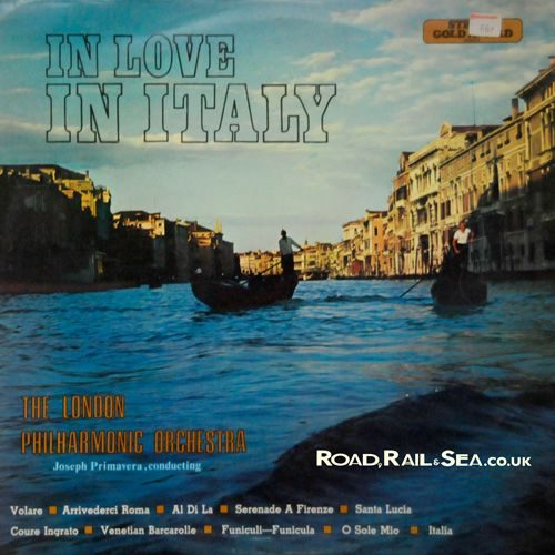 What a wonderfully colourful and sentimental cover...You can almost hear the hearts beating in the gondolas...http://www.roadrailandsea.co.uk