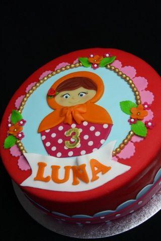 Matroesjka cake taart