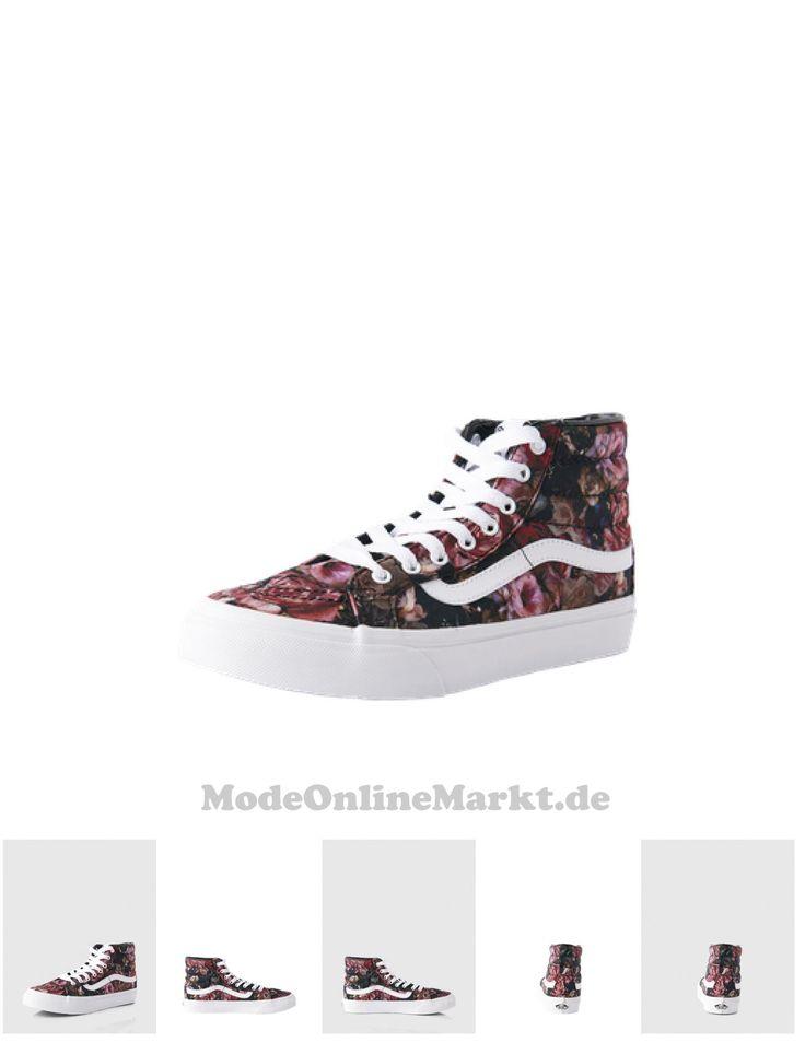 00190286008095   #VANS #Damen #Sk8-Hi #Slim #Moody #Floral #Sneaker #Damen #schwarz