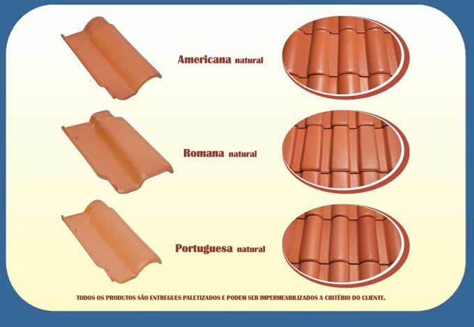 Resultado de imagem para telhas ceramicas tipos