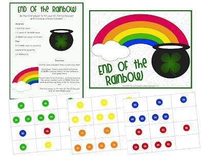 Rainbow M&M Game -  Pinned by @PediaStaff – Please Visit http://ht.ly/63sNt for all our pediatric therapy pins