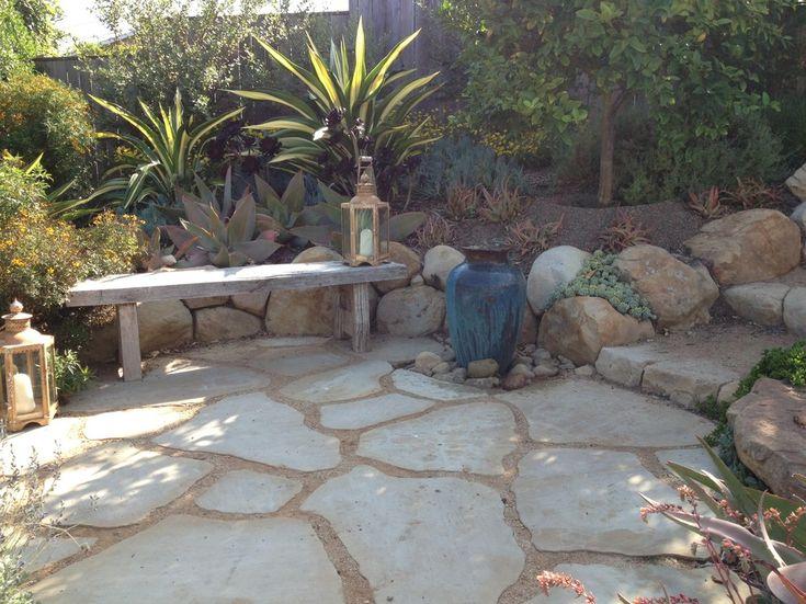 Good Wonderful Decomposed Granite Decorating Ideas For Patio Mediterranean  Design Ideas With Wonderful Fountain Fountain Pot
