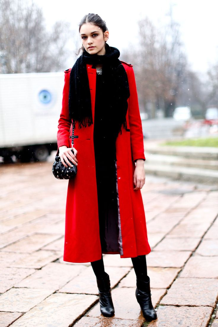 100 best 2dayslook Red Jacket/Coat images on Pinterest | Red coats ...