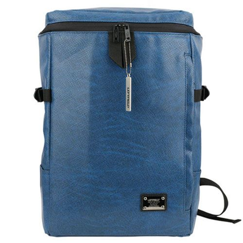 Blue Laptop Backpack for College Mens Book Bags LEFTFIELD 600 | chanchanbag.com | Design makes you feel satisfied Blue Laptop Backpack.