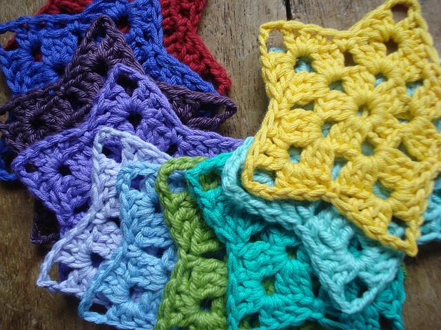Oh my lucky stars! #crochet #stars