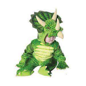 disfraz dinosaurio triceratops
