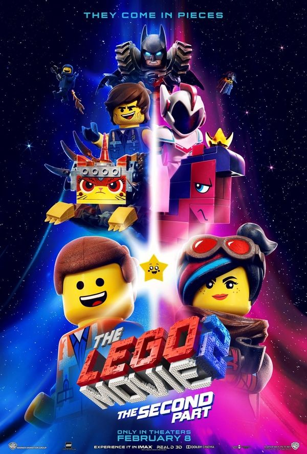 The Lego Movie 2 The Second Part Character Movie Posters