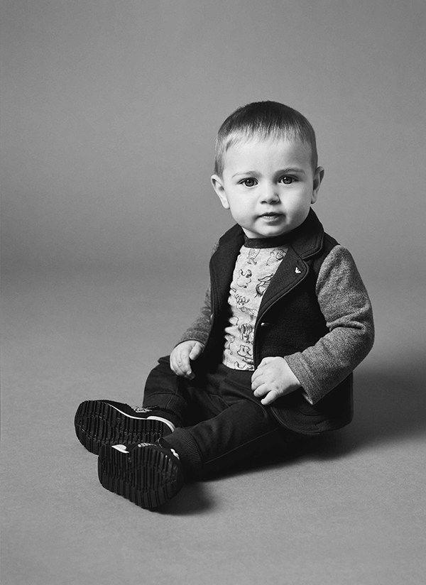 Armani Baby Fall Winter 2016