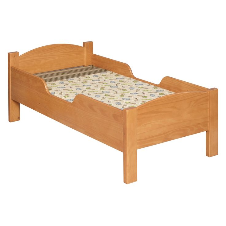 Have to have it. Little Colorado Traditional Toddler Bed - No Cutout - $172.68 @hayneedle