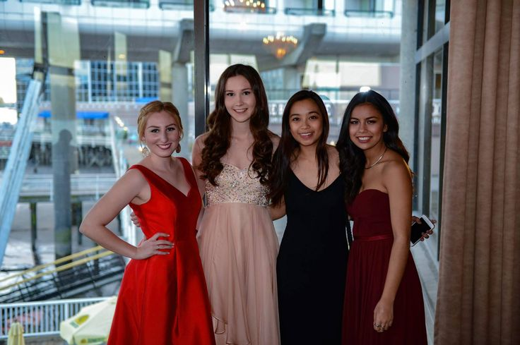 4 members of our Epsilon class looking flawless at their first #KappaBetaGamma formal