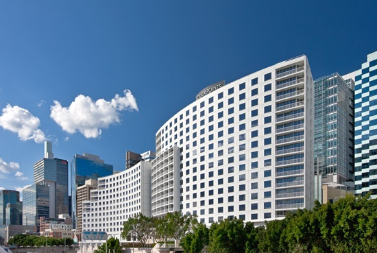 Exterior shot of Four Points by Sheraton Sydney, Darling Harbour