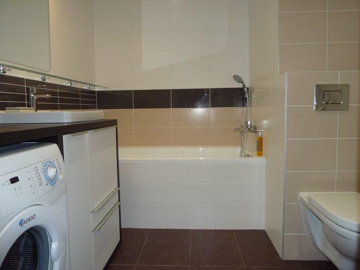 Kúpeľňa s vaňou, spojená s wc