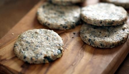 BBC - Food - Recipes : Savoury biscuits. Made these on Christmas Eve. They were really good with cheese & chutney. Would also taste great with blue cheese in them.