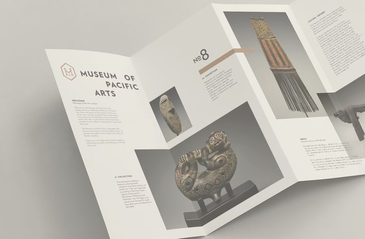 Brochure Design_Museum Of Pacific Arts — Kevin Tran