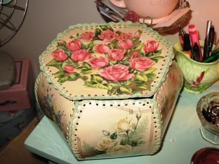 Vintage crochet card box | Flickr - Photo Sharing!