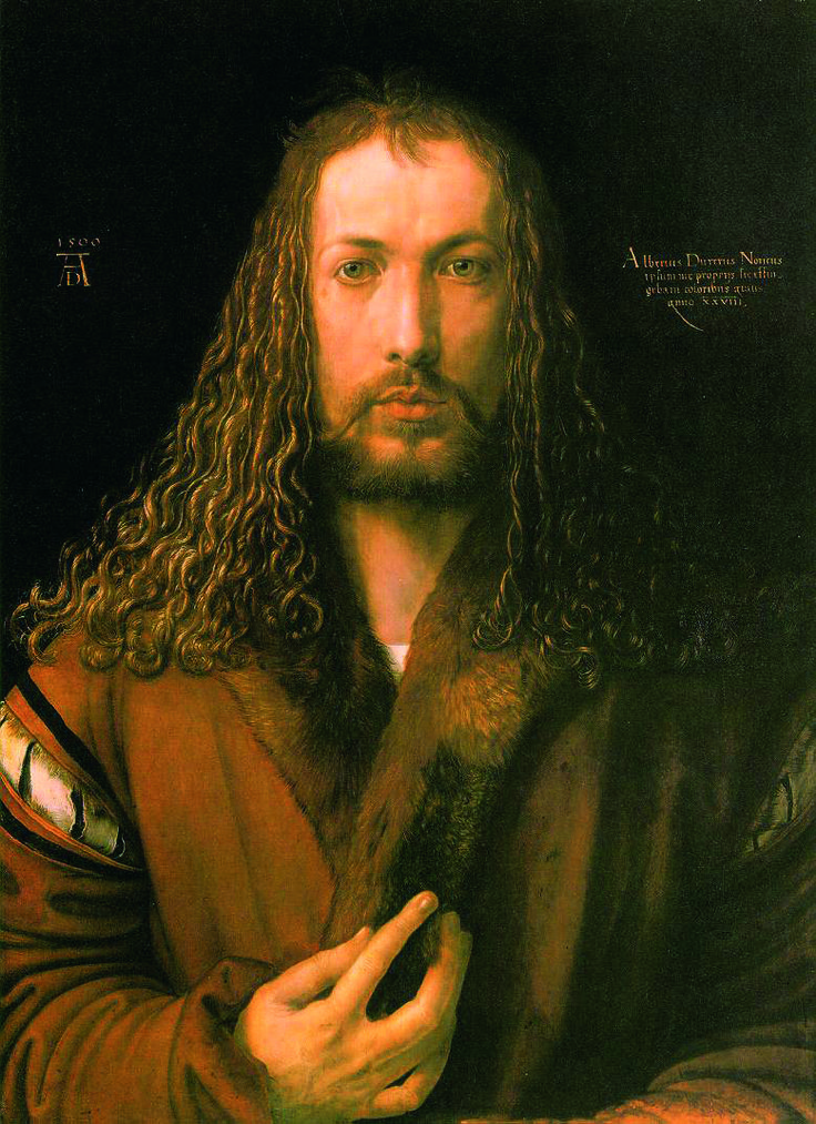 Renaissance - Albrecht Dürer - Autoportrait