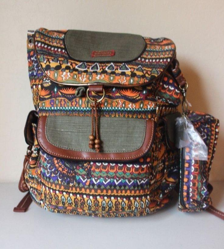 The SAK Roots Artist Circle Harvest One World Backpack - Brand NEW #SAKRootsArtistCircle #Backpack